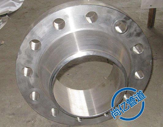 带颈平焊法兰生产制造过程